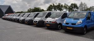 Voorraad bedrijfsauto linkpartners